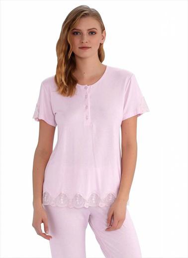 Ayyıldız Pijama Takım Pembe